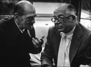Directors Group Party,Luis Bunuel and Billy Wilder © 1972 Marv Newton / MPTV - Image 9999_0006