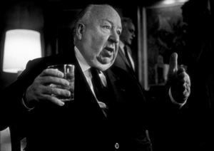 Directors Group Party.  11/72.Alfred Hitchcock. © 1978 Marv Newton - Image 9999_0013