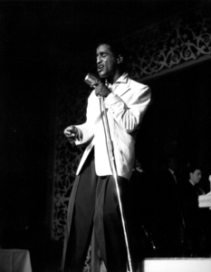 Sammy Davis, Jr. performing at Ciro
