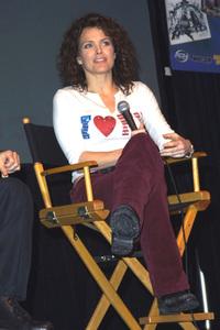 Comic Book ConventionDina MeyerPasadena Civic Center in Pasadena, CA.   2/2/03 © 2003 Scott Weiner - Image Dina_Meyer119