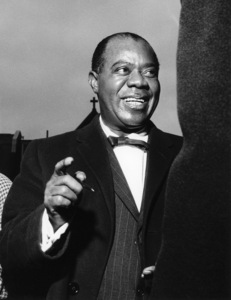 Louis Armstrong, Hammersmith Odeon, London1962Photo by Brian Foskett © National Jazz Archive - Image FOS_00066
