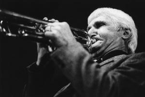 Conte Candoli, Stan Kenton Orchestra, UK tour1964Photo by Brian Foskett © National Jazz Archive - Image FOS_00112