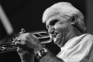 Conte Candoli in the UKcirca 1995Photo by Brian Foskett © National Jazz Archive - Image FOS_00116