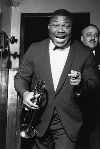 Cat Anderson, Duke Ellington Concert, New Victoria Theatre, London1964Photo by Brian Foskett © National Jazz Archive - Image FOS_00230