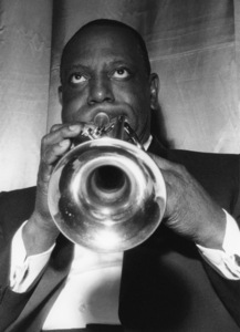 Cootie Williams of the Duke Ellington Orchestra, Finsbury Park Astroria, London 1962Photo by Brian Foskett © National Jazz Archive - Image FOS_00245