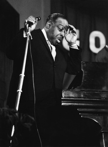 Count Basie on stage, Chatham, Kent1967Photo by Brian Foskett © National Jazz Archive - Image FOS_0024