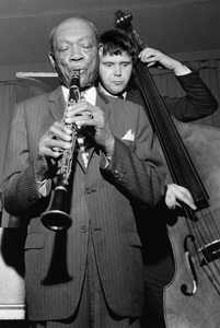 Edmond Hall and Mick Gilligan and the Alan Elsdon Band1966Photo by Brian Foskett © National Jazz Archive - Image FOS_00336