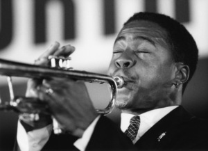 Roy Hargrove, North Sea Jazz Festival, The Hague, Netherlands 1994Photo by Brian Foskett © National Jazz Archive - Image FOS_00384