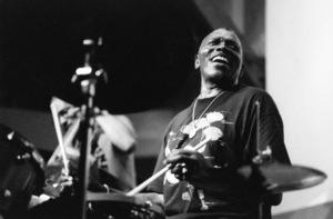 Elvin Jones and his Jazz Machine, Jazz Bakery, Los Angeles 1997Photo by Brian Foskett © National Jazz Archive - Image FOS_00421