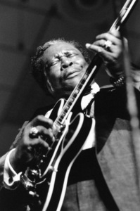 B.B. King, Maastricht Jazz Festival, the Netherlands1991Photo by Brian Foskett © National Jazz Archive - Image FOS_00424