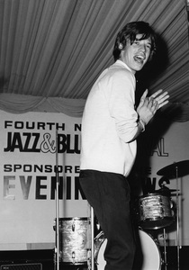 The Rolling Stones (Mick Jagger, 4th National Jazz and Blues Festival, Richmond, London) 1964Photo by Brian Foskett © National Jazz Archive - Image FOS_00543