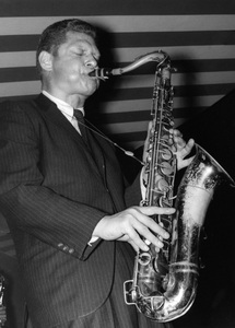 Zoot Sims, Marquee Club, London1961Photo by Brian Foskett © National Jazz Archive - Image FOS_00624