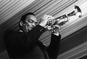 Buck Clayton, Manchester Jazz Festival1963Photo by Brian Foskett © National Jazz Archive - Image FOS_00666