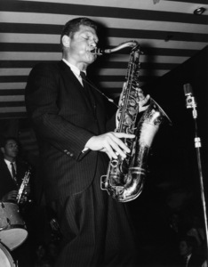 Zoot Sims, Marquee Club, London1961Photo by Brian Foskett © National Jazz Archive - Image FOS_00802