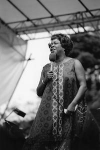 Sarah Vaughan, Knebworth, Capital Radio Jazz Festival1981Photo by Brian Foskett © National Jazz Archive - Image FOS_00910