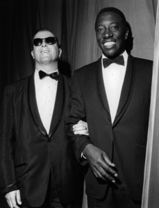 Joe Williams and George Shearing1962Photo by Brian Foskett © National Jazz Archive - Image FOS_00979