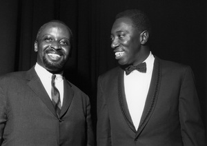 Joe Williams and Junior Mance1962Photo by Brian Foskett © National Jazz Archive - Image FOS_00980
