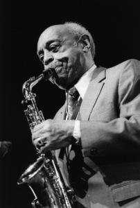 Benny Carter, North Sea Jazz Festival, The Hague, Netherlands1995Photo by Brian Foskett © National Jazz Archive - Image FOS_01073