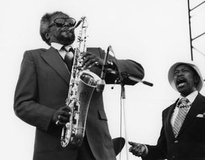 Jimmy Forrest and Al Grey, Capital Radio Jazz Festival, London 1979Photo by Brian Foskett © National Jazz Archive - Image FOS_01104