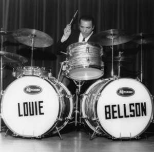 Louie Bellson, London Drum Clinic1967Photo by Brian Foskett © National Jazz Archive - Image FOS_01189