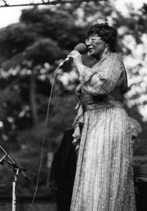 Ella Fitzgerald, Capital Radio Jazz Festival, Knebworth, Herts1981Photo by Brian Foskett © National Jazz Archive - Image FOS_01274