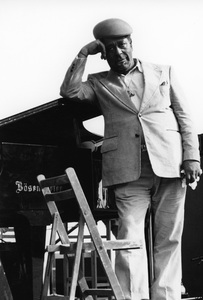 Dizzy Gillespie, Capital Radio Jazz Festival, Alexendra Palace, London1979Photo by Brian Foskett © National Jazz Archive - Image FOS_01295