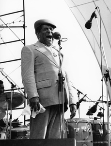 Dizzy Gillespie, Capital Radio Jazz Festival, Alexendra Palace, London1979Photo by Brian Foskett © National Jazz Archive - Image FOS_01297