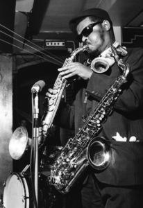 Rahsaan Roland Kirk, Black Prince, Bexley, London1967Photo by Brian Foskett © National Jazz Archive - Image FOS_01392