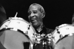 Max Roach, Queen Elizabeth Hall, London1996Photo by Brian Foskett © National Jazz Archive - Image FOS_01590
