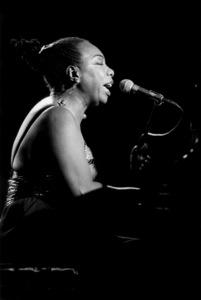 Nina Simone, Maastricht Jazz Festival1992Photo by Brian Foskett © National Jazz Archive - Image FOS_0478